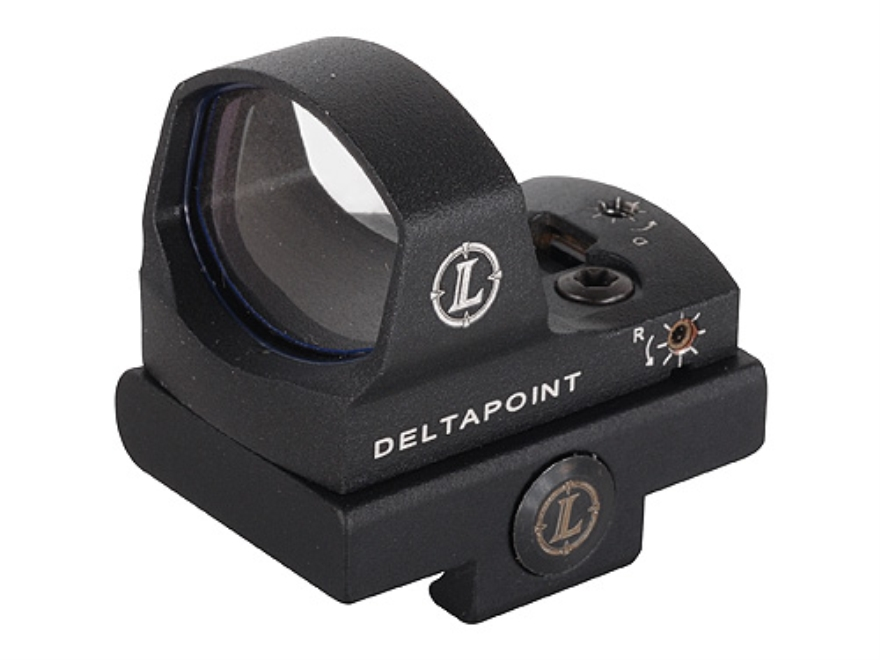 Leupold DeltaPoint Reflex Red Dot Sight 7.5 MOA Delta with Universal Mounting Kit Matte