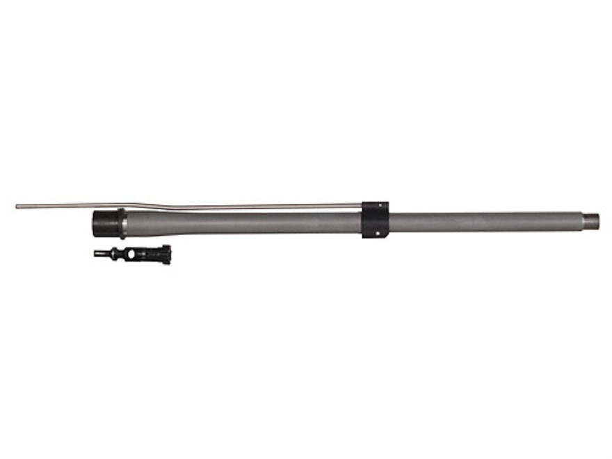"Noveske SPR Match Barrel and Headspaced Bolt AR-15 6.8mm Remington SPC II Medium Contour 1 in 12"" Twist 18"" Stainless Steel with Low Profile Gas Block"