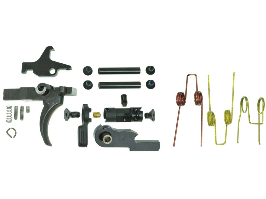 "JP Enterprises Competition Trigger Group with Trigger, Hammer and Anti-Walk Pins AR-15 Small Pin .154"" 3 lb Single Stage"