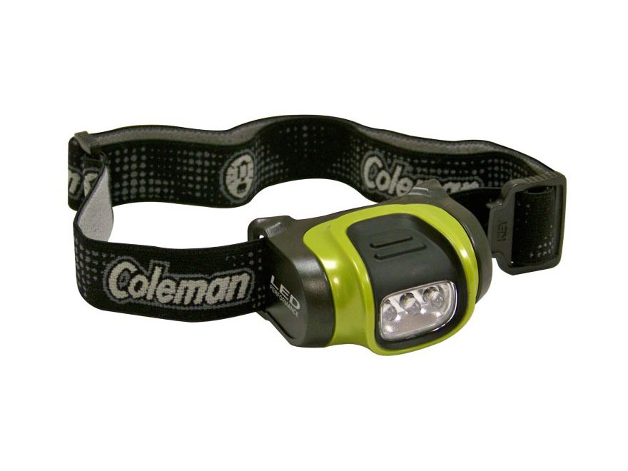 Coleman Headlamp LED 3 AAA Batteries Polymer (Colors Vary)