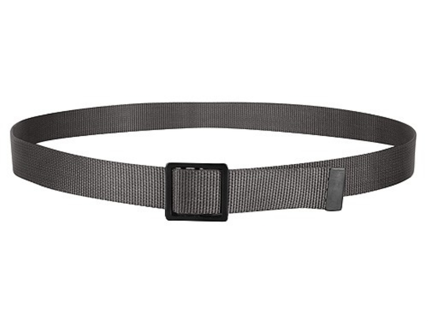 "The Outdoor Connection TuffBelt Belt 1-1/4"" Brass Buckle Nylon Black 54"""