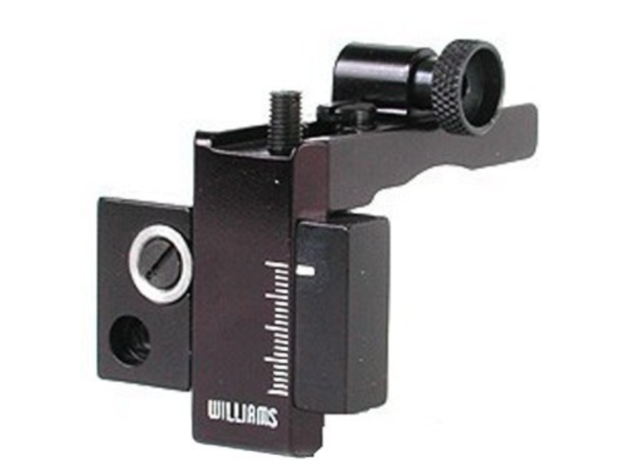 Williams 5D-760N Receiver Peep Sight Remington 742, 760, 572, 552 Aluminum Black