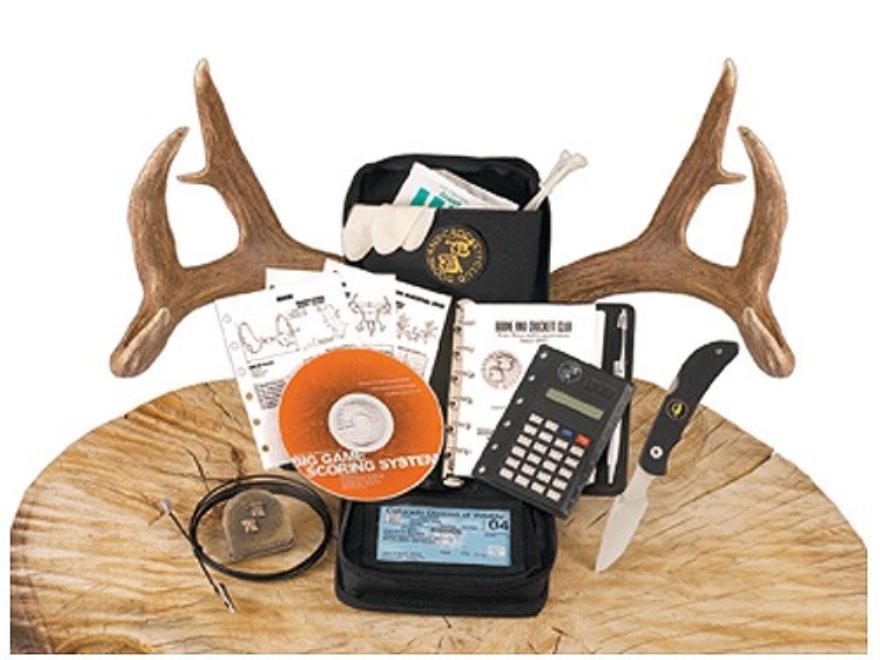 Outdoor Edge Boone & Crockett Official Field Scoring Kit