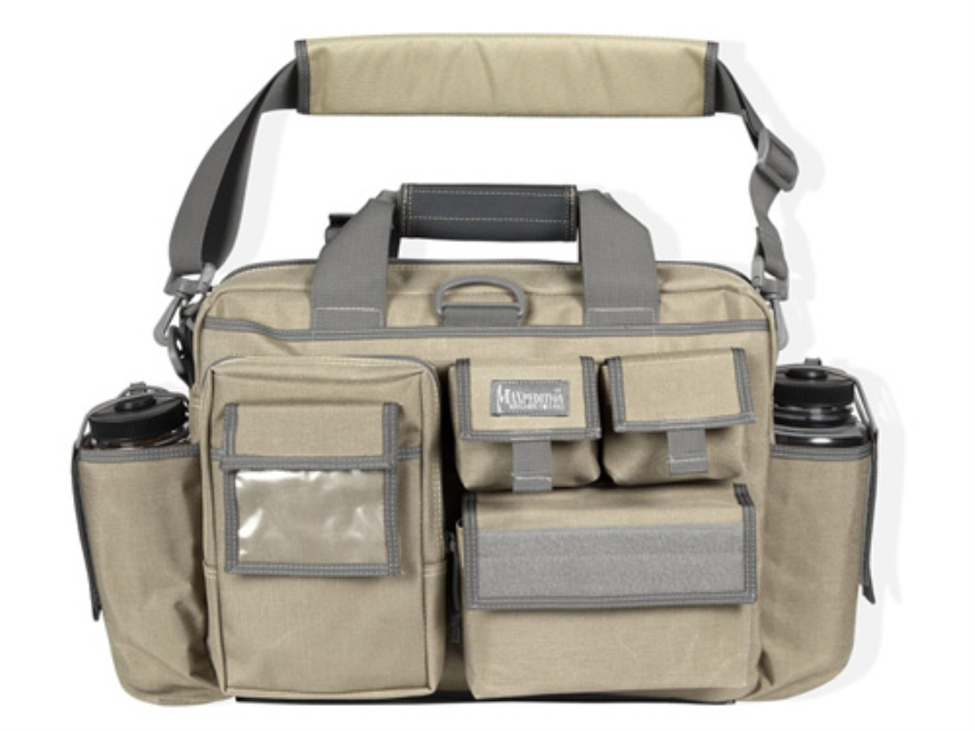 Maxpedition Operator Tactical Attache' Nylon Khaki and Foliage Green