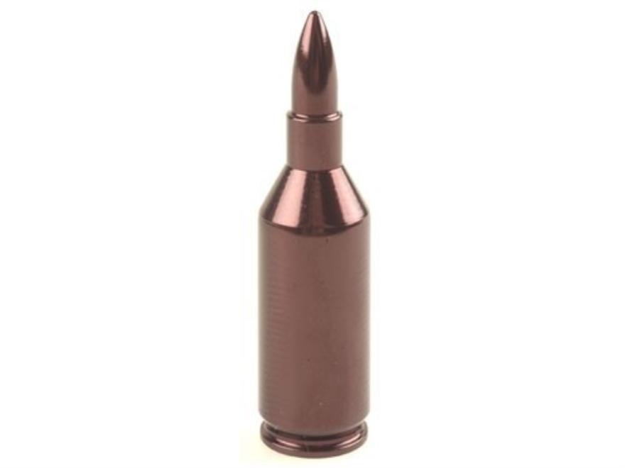 A-ZOOM Action Proving Dummy Round, Snap Cap 223 Winchester Super Short Magnum (WSSM) Aluminum Package of 2