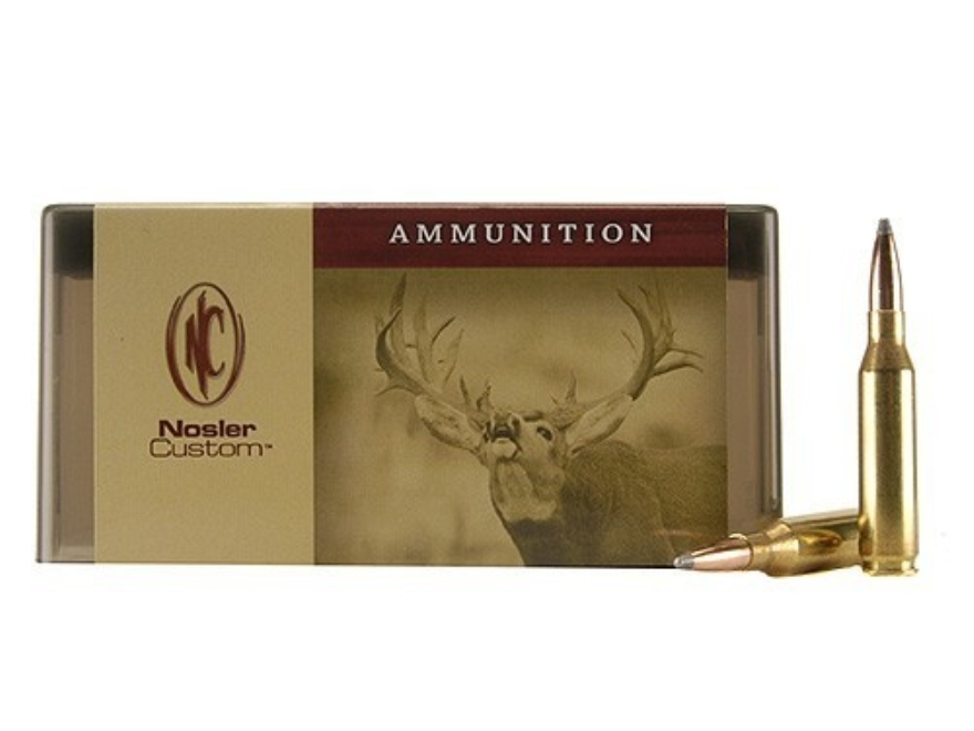 Nosler Custom Ammunition 260 Remington 140 Grain Partition Spitzer Box of 20