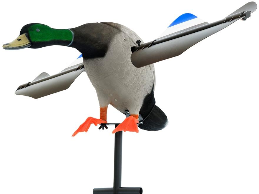 Lucky Duck Super Pro Lucky Drake Flocked Motion Decoy Combo