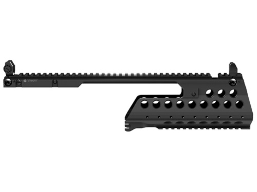 Troy Industries G36-C Battle Rail 2-Piece Customizable Rail System with Flip-Up Iron Si...