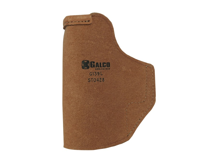 Galco Stow-N-Go Inside the Waistband Holster Right Hand HK USP Compact 9, 40 Leather Brown