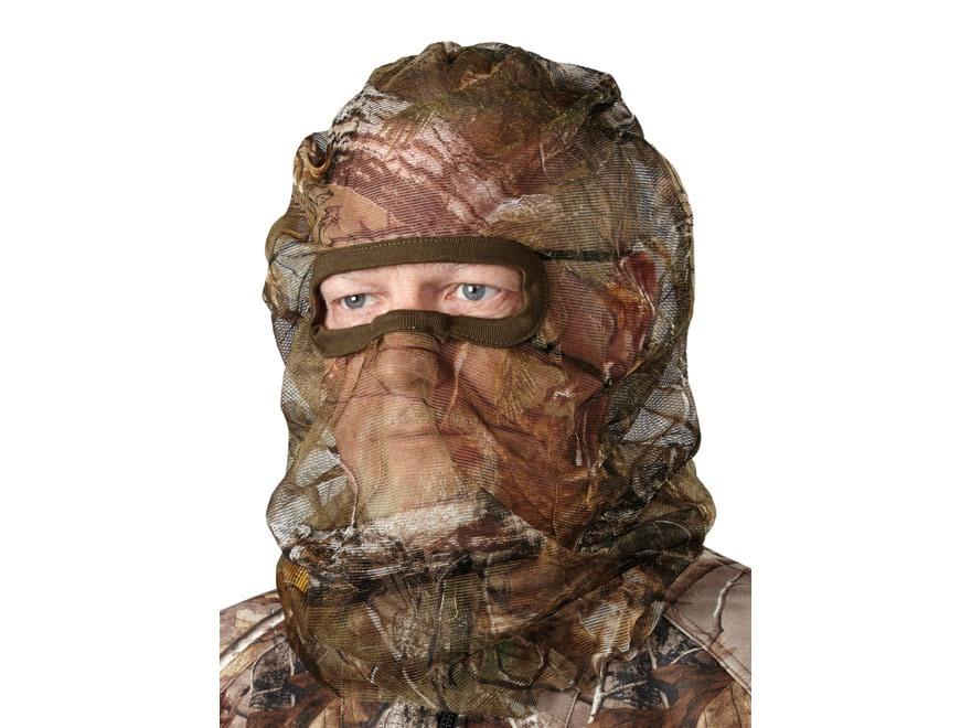 Hunter's Specialties Flex Form 2 Mesh Face Mask Polyester Realtree Xtra Camo