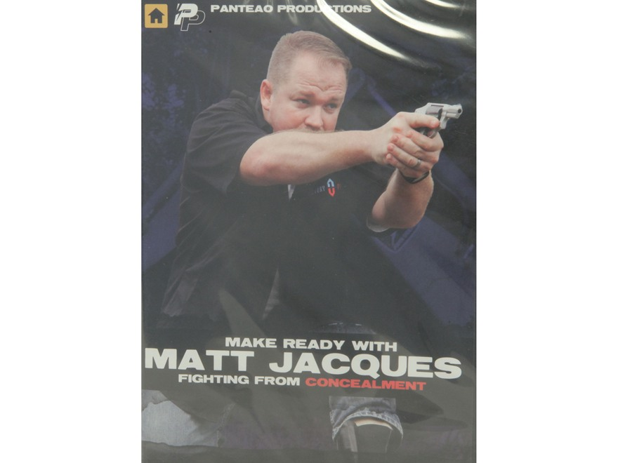 "Panteao ""Make Ready with Matt Jacques:  Fighting from Concealment"" DVD"