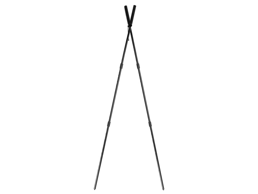 "Caldwell Bipod Shooting Sticks Standing Model 72"" Black"