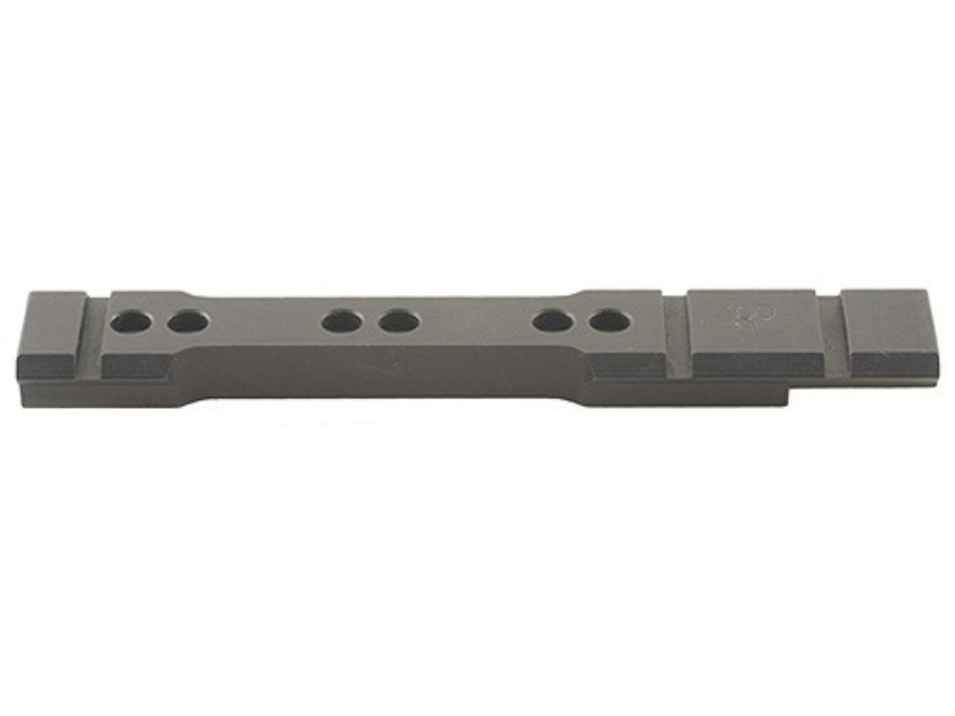 Stratton Custom TC Accessories Weaver-Style Steel 6-Hole Scope Base Thompson Center Contender Matte