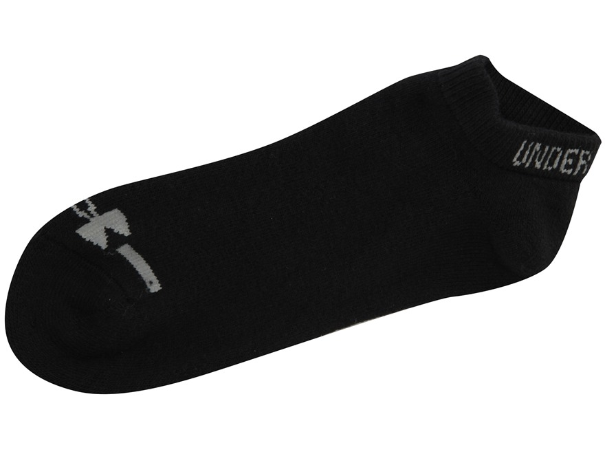 Under Armour Men's Charged Cotton No Show Socks Pack of 6