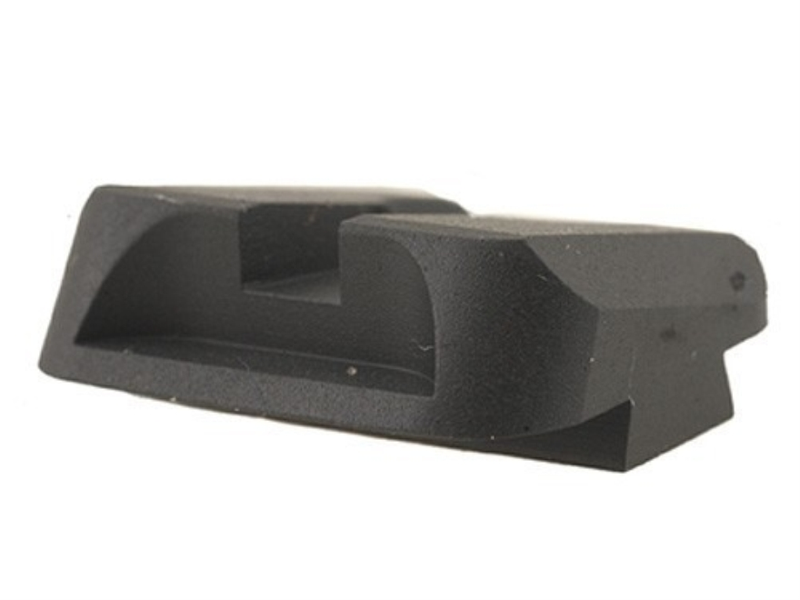 Novak Carry Rear Sight Glock Steel Black