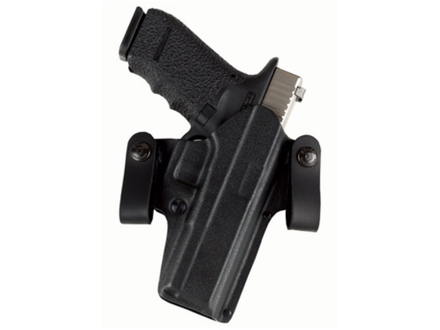 Galco DOUBLE TIME Convertible Belt and Inside the Waistband Holster Right Hand Glock 19, 23, 32 Kydex Black