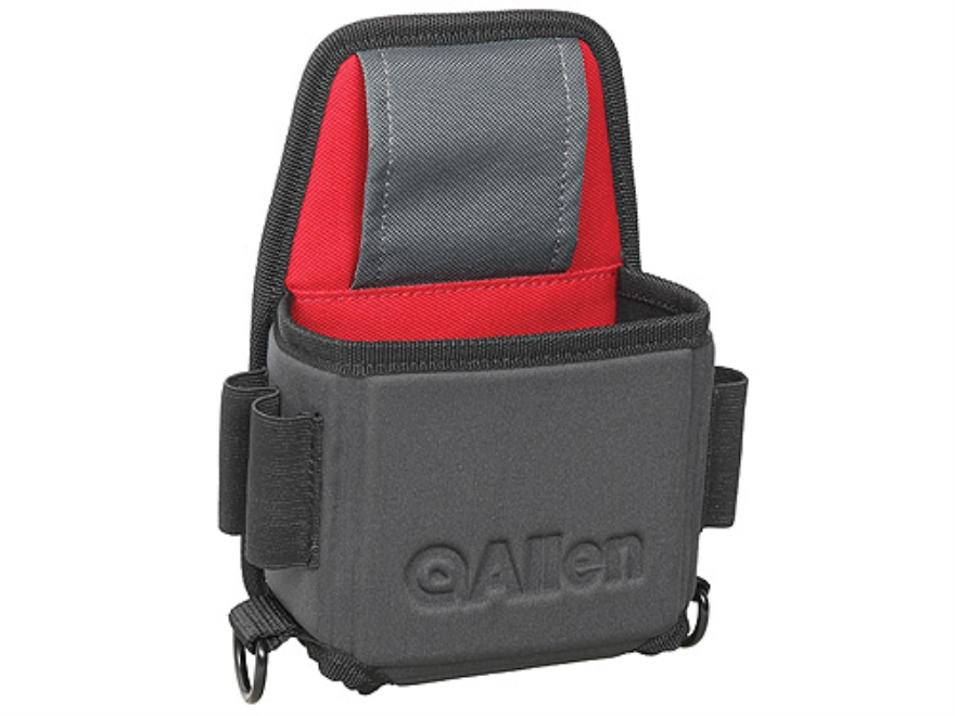 Allen Eliminator Single Box Shotshell Box Carrier Foam Shell Gray/Red