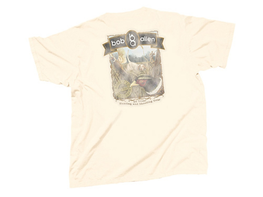 "Bob Allen ""Field Tested American Sportsman"" Short-Sleeved T-Shirt with Pheasant Graphic..."