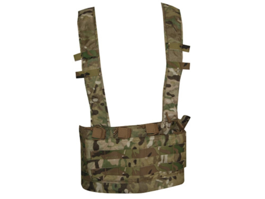 VTAC MOLLE Chest Rig Nylon Multicam Camo