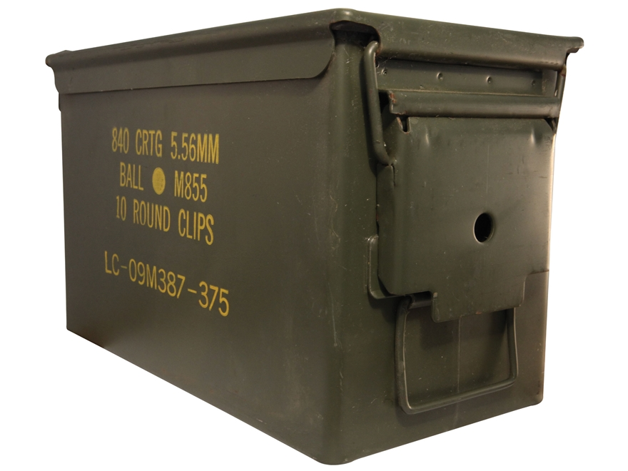 Military Surplus Ammo Can 50 Caliber Grade 2