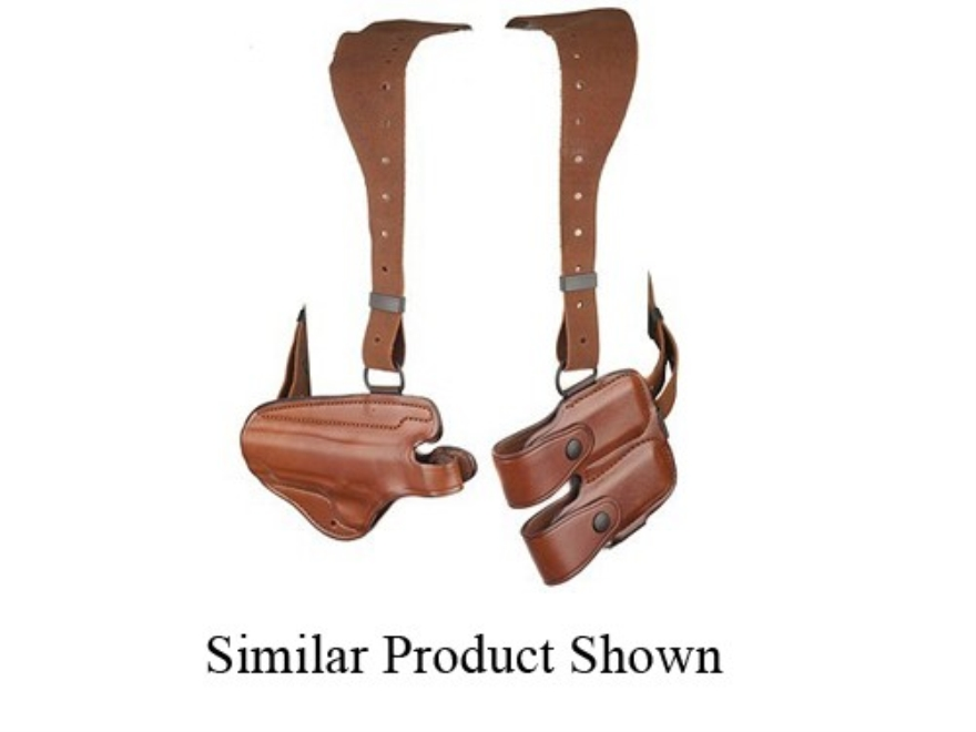 Bianchi X16 Agent X Shoulder Holster System Ruger P89, P90, P91, P94 Leather Tan