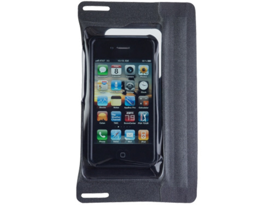 SealLine iSeries Waterproof Case for iPhone (without Headphone Jack) Polymer Black