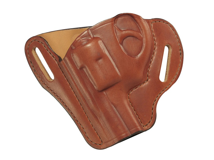"Bianchi 58 P.I. Belt Slide Holster S&W J frame 2"" Leather"