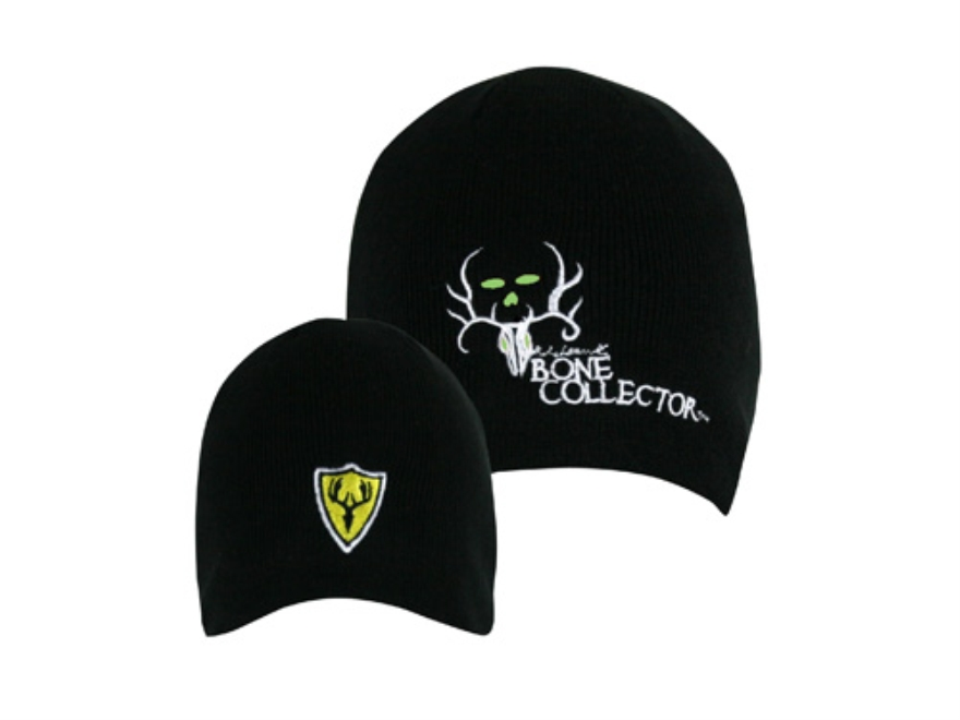 ScentBlocker Bone Collector Skull Cap Acrylic Black