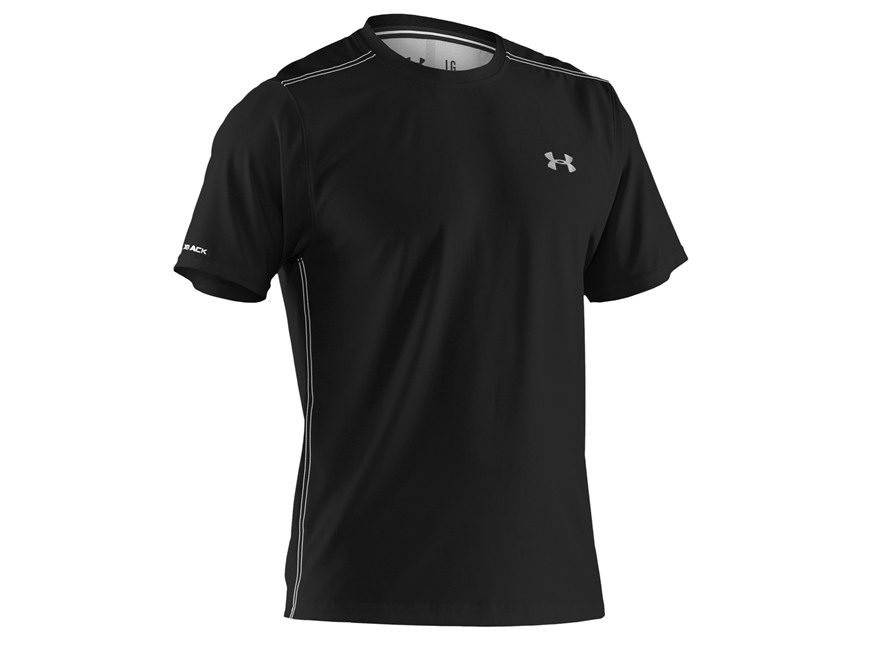 under armour men 39 s coldblack heatgear t shirt short sleeve
