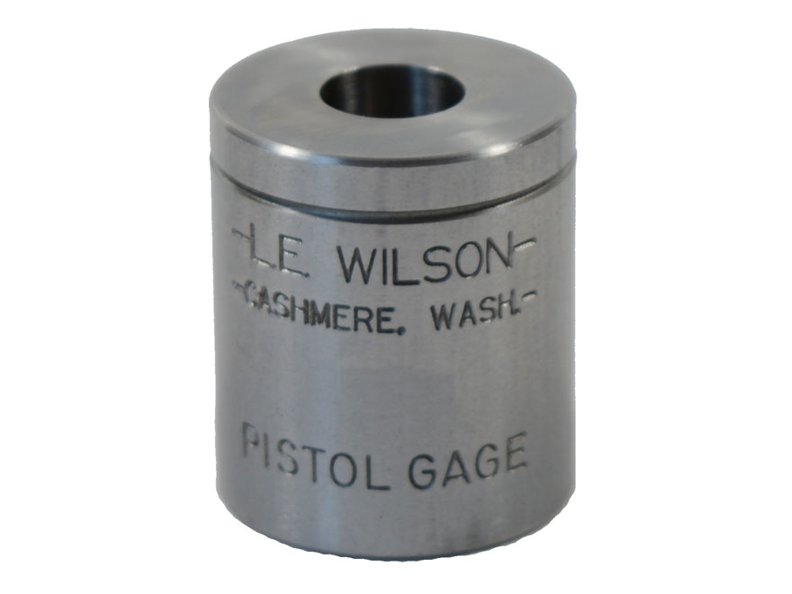 L.E. Wilson Max Cartridge Gage 45 ACP