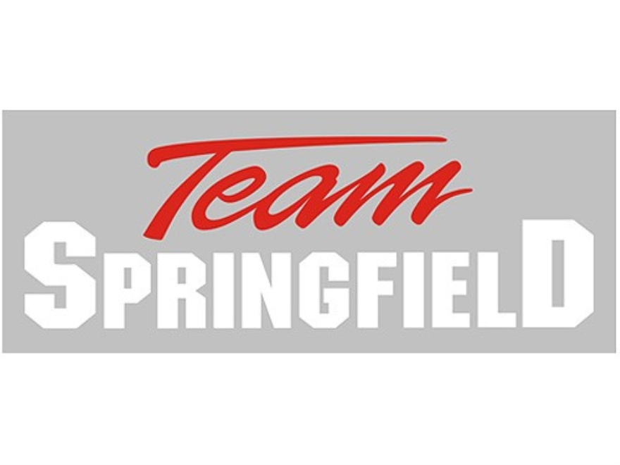 Springfield Armory Team Springfield Decal