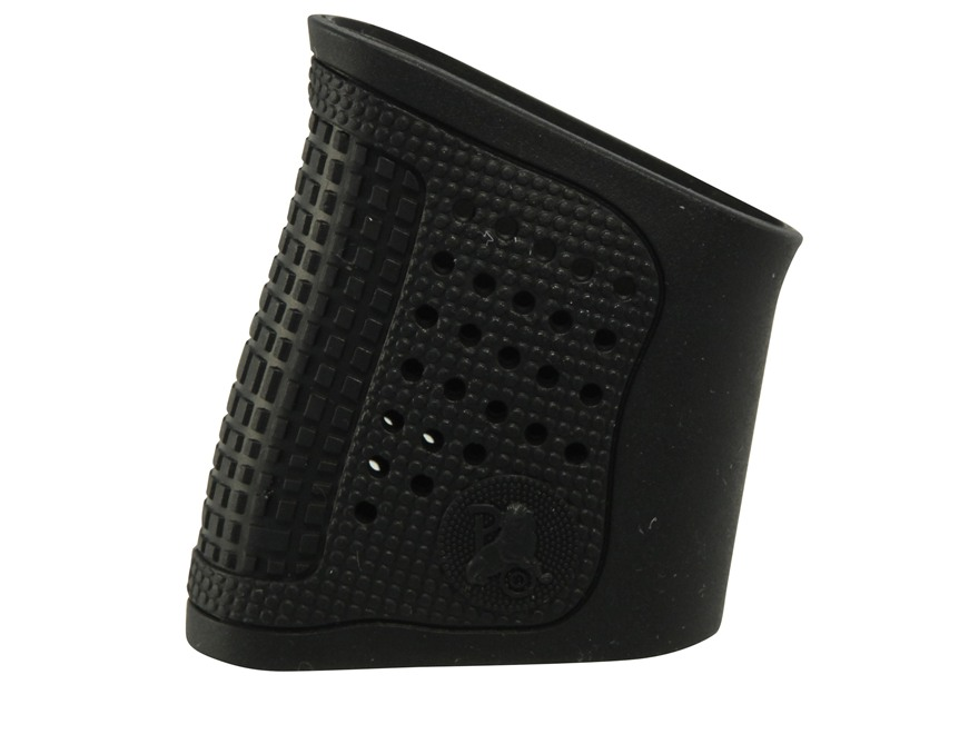 Pachmayr Tactical Grip Glove Slip-On Grip Sleeve S&W M&P Shield Rubber Black