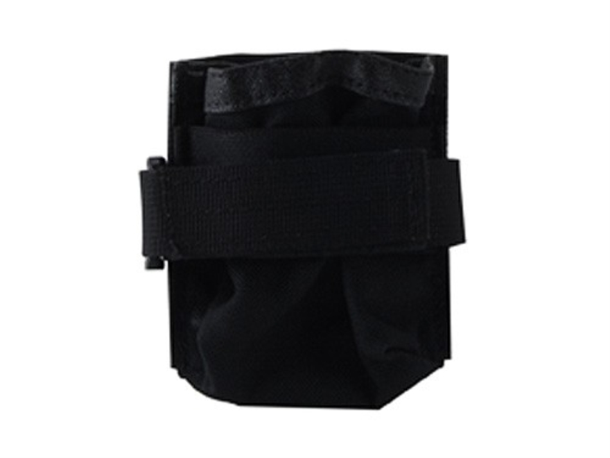 California Competition Works Vertical Single Magazine Pouch AR-10 20-Round Nylon Black