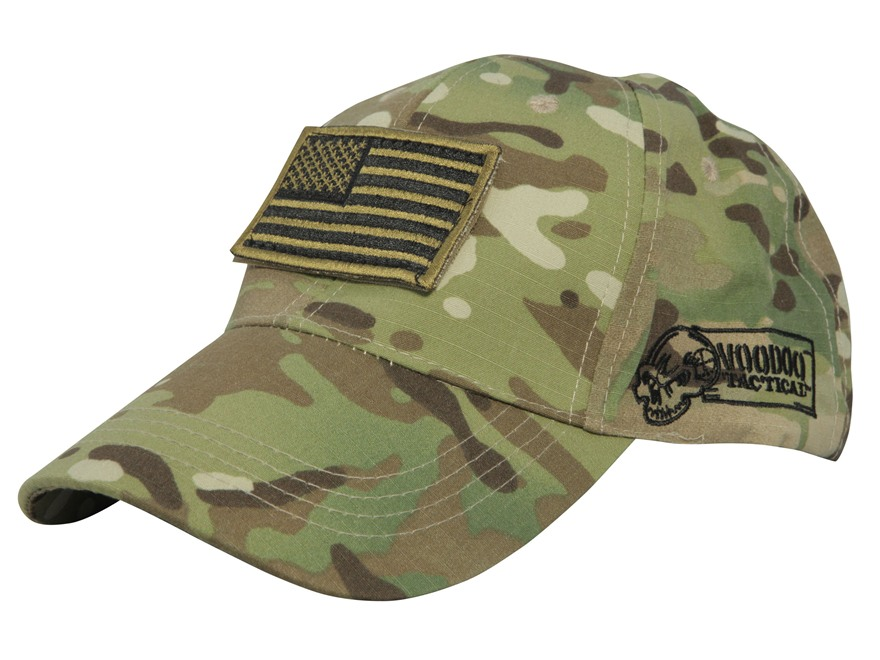 Voodoo Tactical Cap with Removable Flag Patch