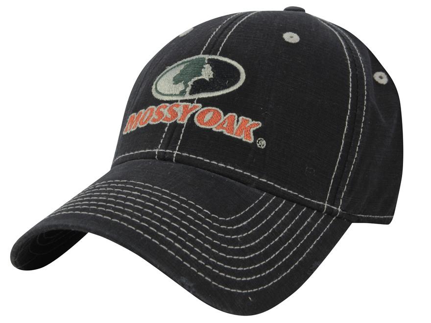 Mossy Oak Logo Cap Cotton Black