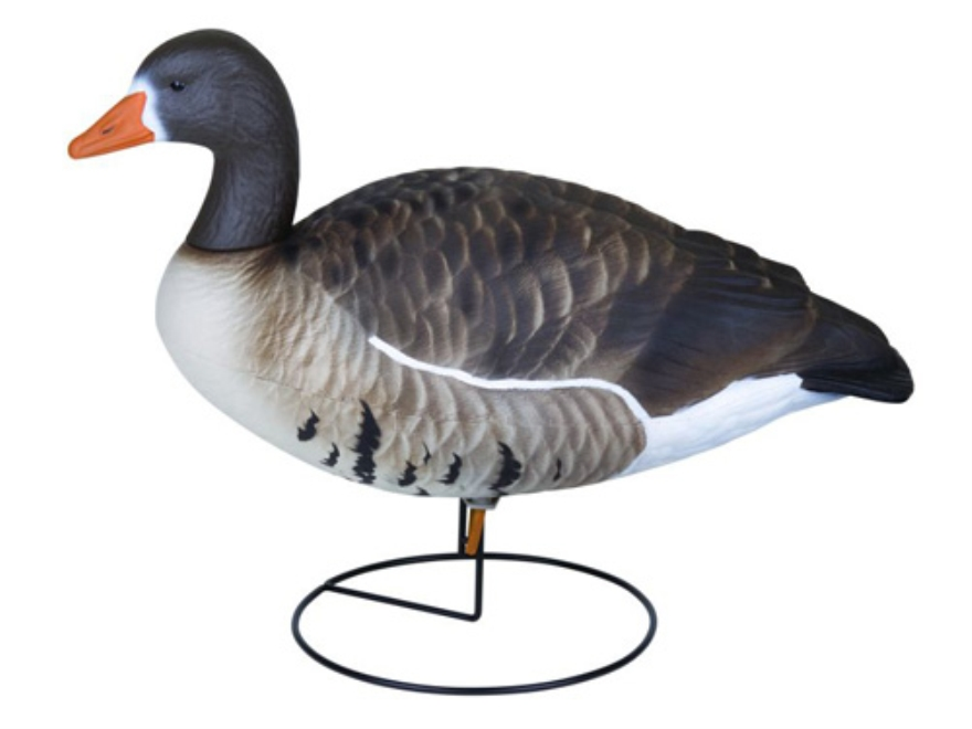 Flambeau Storm Front Full Body Active Pack White Front Goose Decoys Pack of 4
