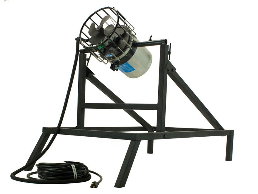 Higdon ice blaster 120 volt 3 4 hp 100 39 cord large stand for Kasco marine de icer motor