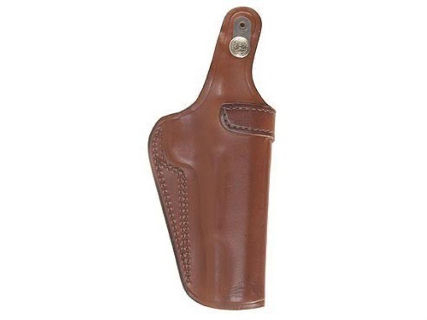 Bianchi 3S Pistol Pocket Inside the Waistband Holster Beretta 92, 96, S&W 1006, 4506, 5943, Taurus PT92, PT99, PT100, PT101 Leather Tan