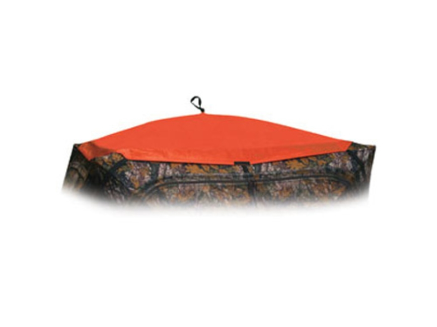 Barronett Hub Ground Blind Cover Polyester Blaze Orange