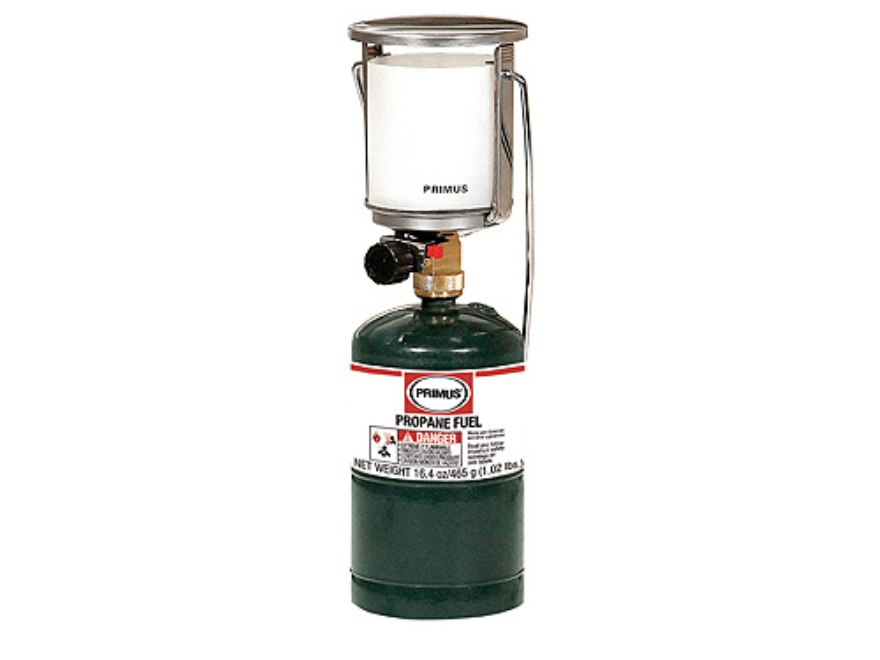 Primus Tor Sr. Propane Lantern 1400 Lumens with Piezo Electronic Ignition Stainless Steel
