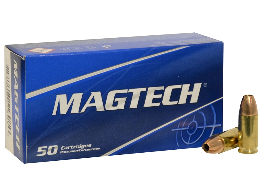 Magtech Sport Ammunition 9mm Luger 115 Grain Jacketed Hollow Point