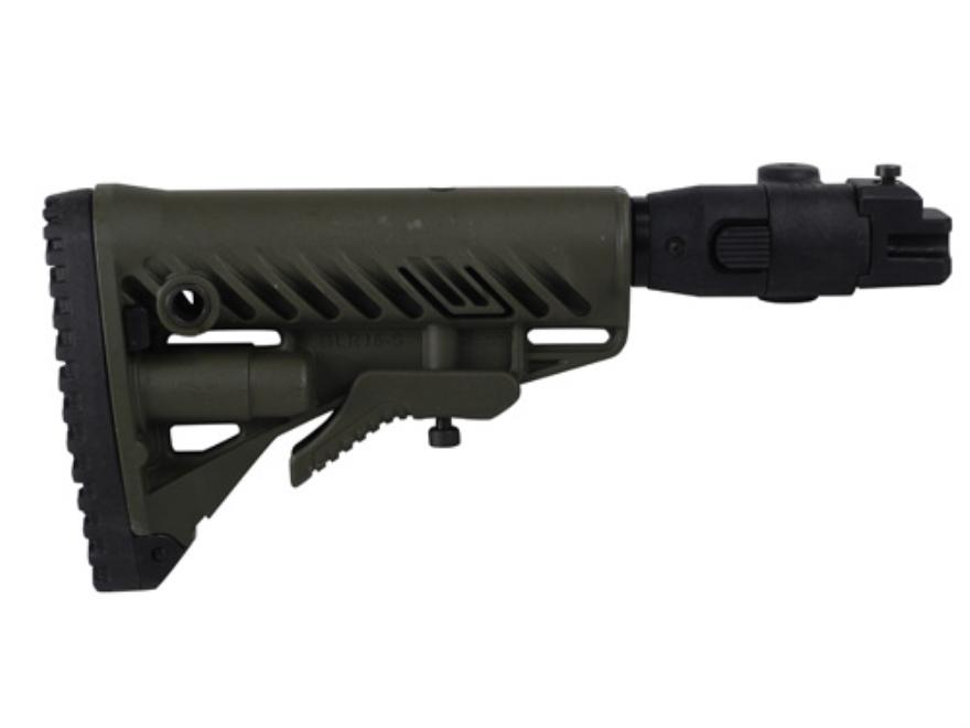 FAB Defense GLR16 Folding Collapsible Buttstock Assembly Polymer Joint AK-47, AK-74 Pol...
