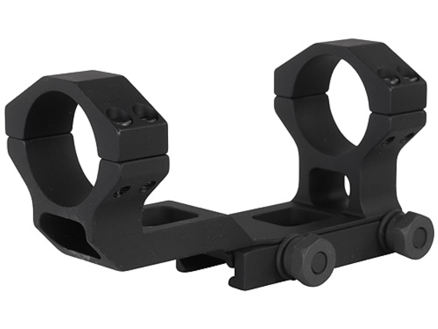 GG&G FLT Bolt On Extra-Extended Low Profile Scope Mount Picatinny-Style with Integral 30mm Rings AR-15 Flat-Top Matte