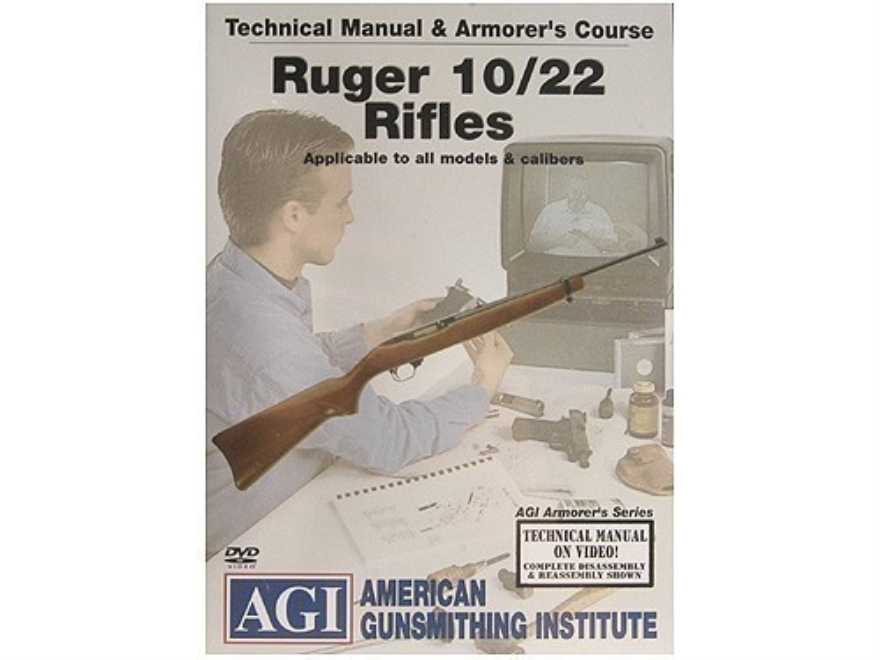 "American Gunsmithing Institute (AGI) Technical Manual & Armorer's Course Video ""Ruger 1..."