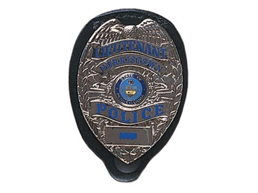 Gould & Goodrich B576 Badge Holder Leather Black