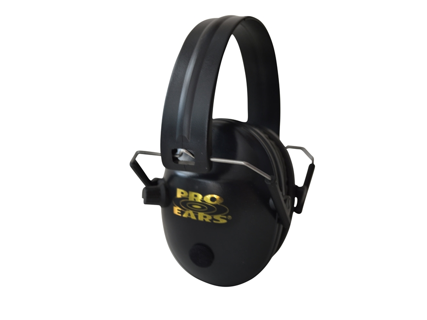 Pro Ears Pro 200 Electronic Earmuffs (NRR 19 dB) Black