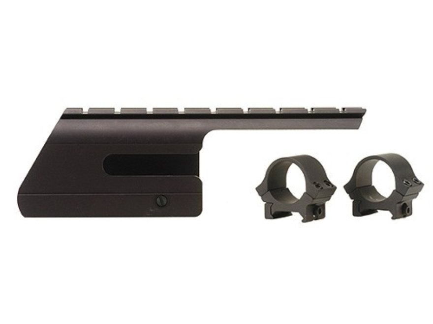 "B-Square Shotgun Saddle Mount with 1"" Rings Stoeger 2000 Matte"
