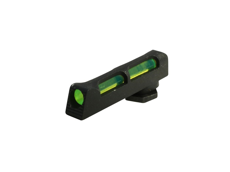 HIVIZ Front Sight Gen 3 Glock Fiber Optic 3 Interchangeable Lite Pipes