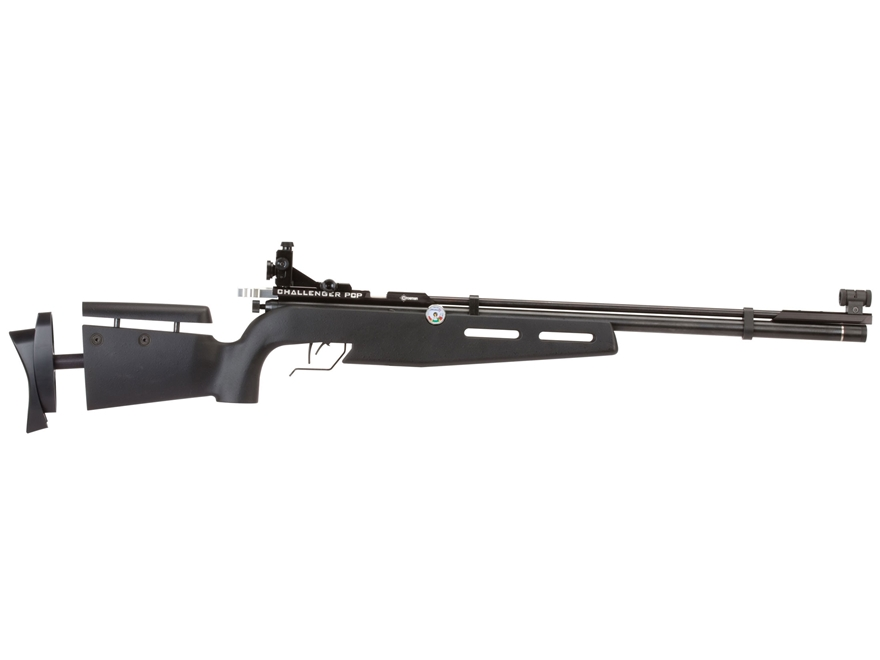 Crosman PCP Challenger Competition Air Rifle 177 Caliber Pellet Polymer Stock Black with Sights