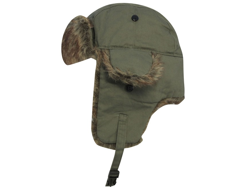 Duck Commander Bomber Hat Cotton Olive
